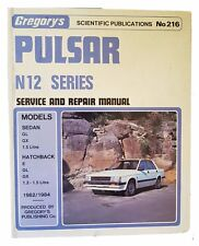 Gregorys Nissan Puslar N12 Series 1982-1984 Service and Repair Manual