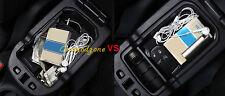 New Black Interior Central slot storage Box 1pcs  For Jeep Compass 2017 2018