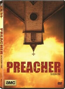 Preacher: Season 1 (DVD, 2016, 4-Disc Set) New, Free shipping