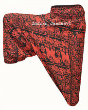 New Elephant Print Indian Cotton Men Women Laden Harem Pant Baggy Gypsy Trouser