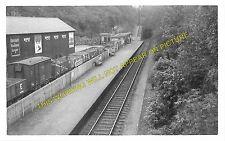 Colinton Railway Station Photo. Jumiper Green - Slateford. Currie to Gorgie. (1)