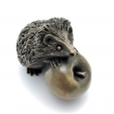 Oriele Bronze  Small Hedgehog On Apple
