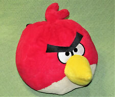 ANGRY BIRDS PILLOW HEAD PLUSH ROVIO STUFFED ANIMAL RED CHARACTER COMMONWEALTH