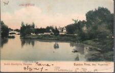 Buenos Aires, Argentina - Zoo, Jardin Zoologico, Palermo - postcard, stamp 1907