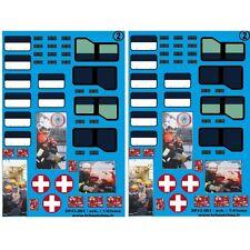 sp43.001 - vitrage master 2 + fenêtre ambulance + rideaux FTP essonne 1 - 1/43em