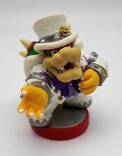 Raro Figura Amiibo (Super Mario Odyssey) Bowser ( Boda Uniforme)