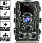 Wildlife Hunting Trail Camera 1080P 20MP  Night Vision Infrared Wild Trap Game