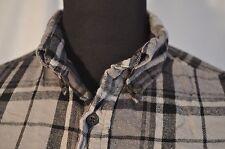 Vintage St John's Bay Grey Flannel Check de Superdry occidental en tamaño mediano