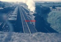 PHOTO  BR STANDARD LOCO AT CARNFORTH JULY 1968