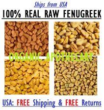 Organic Fenugreek Seed Whole Trigonella foenum graecum RAW Methi Dry 100%Natural