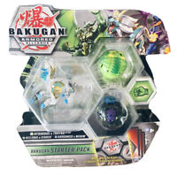 Bakugan Armored Alliance Starter Pack Hydorous x Trhyno Ultra with Gate Card