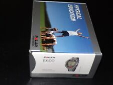 Polar E600 Heart Rate Monitor Watch Heartrate 50 Meters Water Resistant  NEW
