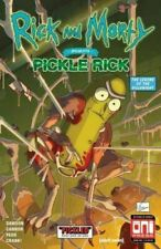RICK & MORTY PRESENTS PICKLE RICK Scorpion Comics Exclusive Homage cover