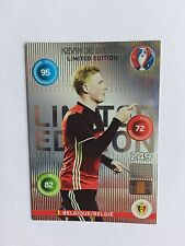 PANINI ADRENALYN XL EURO 2016 LIMITED EDITION KEVIN DE BRUYNE
