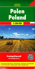 Polen Autokarte 1:500.000 Straßenkarte von freytag & berndt