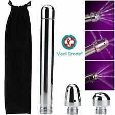 Medi Grade 3 Heads Shower Enema/Douche Anal/Vaginal Cleansing Kit/Set Aluminium