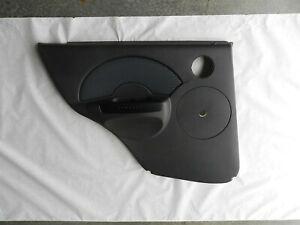 2005-2006 CHEVROLET AVEO NEW UPPER LEFT REAR DOOR TRIM PANEL BLACK # 96462236