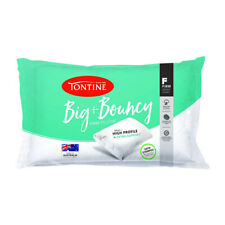 IM BIG AND BOUNCY 2 pack Firm & High Pillows by Tontine (Pair) Date stamped NEW