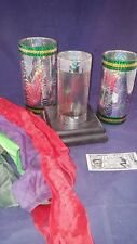 Vintage CRYSTAL SILK CYLINDER Production Tube Includes Silks Magic Trick