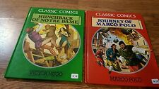 Classic Comics : Hunchback of Notre Dame by Victor Hugo (1991, Hardcover)