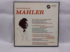 The World of Mahler -5LP Record Box Set                                    lp130