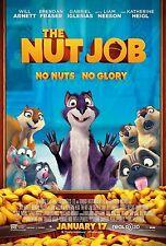 THE NUT JOB - Movie Poster Flyer - 11X17 - BRENDAN FRASER