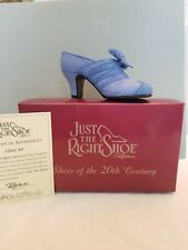 "Just The Right Shoe 1999 ""Class Act"" #25042 W Box & Coa Signed By Raine"