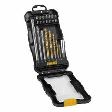 DEWALT Drill & Screwdriver Bit Set 16 Pc. Masonry, HSS with bit holder DT1567-QZ