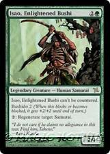 ISAO, ENLIGHTENED BUSHI Betrayers of Kamigawa MTG Green Creature — Samurai RARE