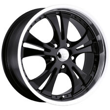 "4-NEW Vision 539 Shockwave 17x7 5x114.3/5x4.5"" +42mm Gloss Black Wheels Rims"