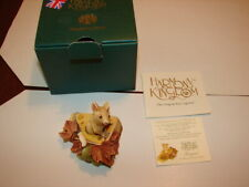 1 Harmony Kingdom - Treasure Jests - Gruyere - Mouse - Made In Uk - New In Box