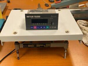 👀 METTLER TOLEDO 120LB SCALE 1997 W/ DIGITAL INDICATOR SCREEN PTPN 3800 000