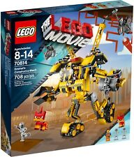 New Sealed Lego 70814 Emmet Construct O Mech The Lego Movie Discontinued