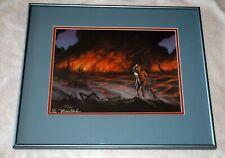 Phantasia Press Michael Whelan Signed Firestarter Art Stephen King 1/200