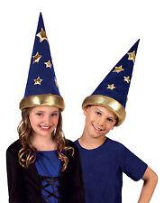 enfants garçon filles sorcière Magicienne chapeau costume déguisement médiéval