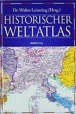 Historischer Weltatlas von Walter Leisering | Buch | Zustand gut