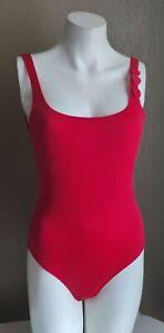 maillot de bain Antigel de LISE CHARMEL 1 pièce cœur rouge T3