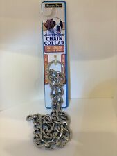 "Aspen Pet Mighty Link Chain Collar 26"" Length For Dogs 110 To 200 Lbs"
