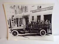 VINTAGE ALBANY NY FIRE DEPARTMENT PHOTO PRINT
