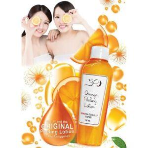 1 x  Orange Rejuvenating Lotion Skin Whitening lotion 100 ml Beauty wise.