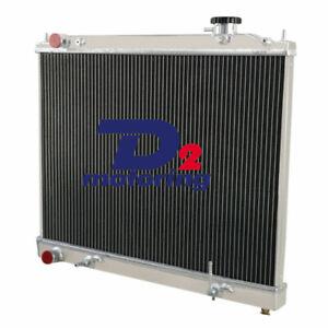 Aluminum Radiator+Cap For NISSAN ELGRAND E50 E51 3.5L V6 2000-2008 04 05 07