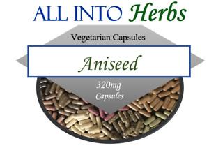 Aniseed 120 Vegetarian Capsules