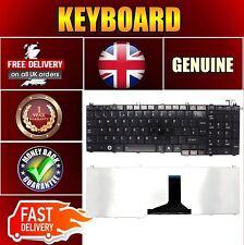 Nuevo TOSHIBA SATELLITE PRO C660-21E Teclado De Laptop Notebook Reino Unido Layout Negro