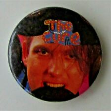 More details for the cure robert biting record  old metal button badge from the 1980's