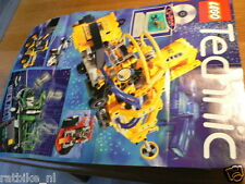 LEGO BROCHURE FLYER CATALOG TOYS TECHNIC 1997 CD-ROM DUTCH  8 PAGES FOLDED 017