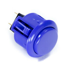 Sanwa Obsf-24mm Snap-in Button-Marine Blue-Oem