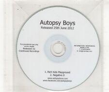 (HN503) Autopsy Boys, Rich Kids Playground - 2012 DJ CD