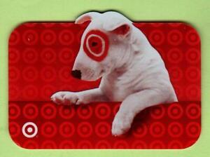 TARGET Bullseye 2005 Die-Cut Gift Card ( $0 )