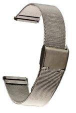 Milanaise Uhrband Meshband Edelstahl-Uhrband 16 mm Uhrenarmband Uhrbänder