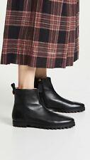 Stuart Weitzman Riley Black Leather Ankle Boots UK 3 EU 36